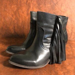 KRBONELL Western Fringe Boots